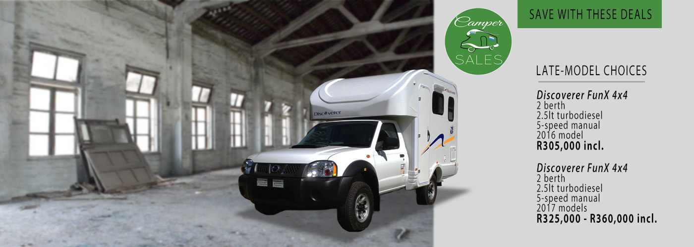 Campers and Motorhomes For Sale by Camper Sales South Africa